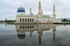 Kota Kinabalu Mosque Stockfotos