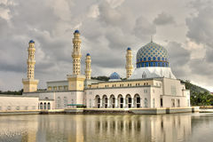 Kota Kinabalu Mosque Royalty Free Stock Images
