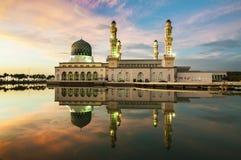 Kota Kinabalu Mosque Fotografia Stock Libera da Diritti