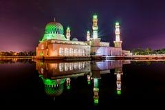 Kota Kinabalu Mosque Immagini Stock Libere da Diritti