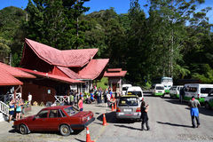 Kota kinabalu national park main entrance where registration and payment are made Stock Image