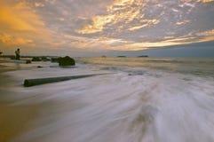 Kota Kinabalu plaża Obraz Royalty Free