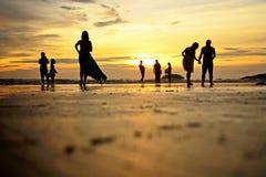 Kota Kinabalu plaża Fotografia Royalty Free