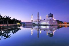 Kota Kinabalu Sabah Floating Mosque Royalty Free Stock Photos