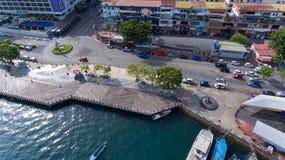 Kota Kinabalu Sabah Malaysia arkivfoto