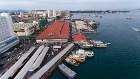 Kota Kinabalu Sabah Malaysia royaltyfri fotografi