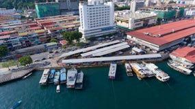 Kota Kinabalu Sabah Malaysia arkivfoton