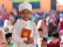 Thafiz Student Muslim royalty free stock image