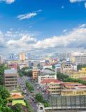 Kota Kinabalu Sabah Malaysia. Skyline of Kota Kinabalu Sabah Malaysia stock image