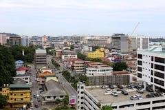 Kota Kinabalu, Sabah, Malaysia. Town view of Kota Kinabalu, Sabah. This photo was taken from signal hill stock photos
