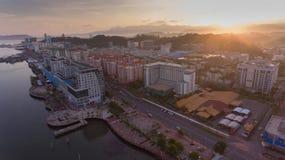 Kota Kinabalu-stad royalty-vrije stock fotografie