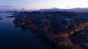Kota Kinabalu stad royaltyfri bild