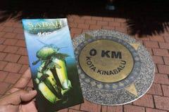 Kota Kinabalu stad fotografering för bildbyråer