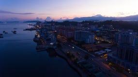 Kota Kinabalu Sunrise images stock