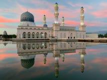 Kota- Kinabalustadt-Moschee stockfotografie