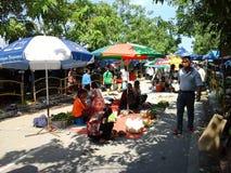 Kota Marudu weekendu rynek Zdjęcie Stock