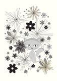kota obrazka wektor ilustracji