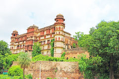 Kota palace and grounds india. Ancient palace grounds and fort in india Stock Photo