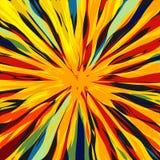Kota ` s oka Abstrakcjonistyczna sztuka Zdjęcia Stock