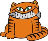 kota sadło ilustracja wektor
