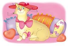 kota tłuszczu Obraz Stock
