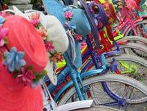 Kota Tua, Jakarta. Batavia old city. Bicycle rental in Fatahillah Square, Kota Tua. Batavia old city Royalty Free Stock Image
