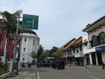 Kota Tua, Jakarta. Batavia old city. Dutch colonial buildings Royalty Free Stock Image