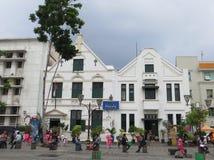 Kota Tua, Jakarta. Batavia old city. Museum Wayang at Fatahillah Square, Kota Tua, Jakarta. Batavia old city Royalty Free Stock Images