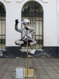 Kota Tua, Jakarta. Batavia old city. Street art performer in Kota Tua. Batavia old city Stock Images