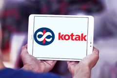 Kotak Mahindra Bank logo Stock Photography