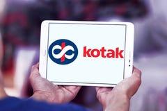 Kotak Mahindra Bank logo. Logo of Kotak Mahindra Bank on samsung tablet . Kotak Mahindra Bank is an Indian private sector bank Stock Photography