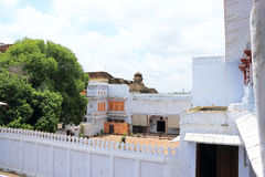 Kotapaleis en gronden India stock fotografie