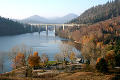 kotar lake för gorski Arkivbilder