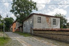 Center of historical town of Kotel, Sliven Region, Bulgaria Stock Images