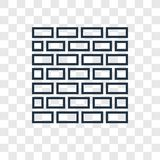 Kotel concept vector linear icon isolated on transparent background, Kotel concept transparency logo in outline style vector illustration
