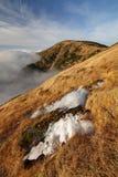 Kotel hill in Krkonose mountains Stock Image