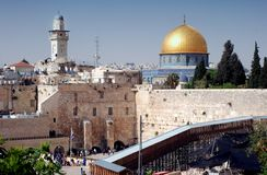 The Kotel, Jerusalem Royalty Free Stock Photos