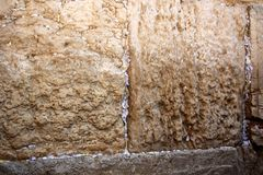 The Kotel in the Old City of Jerusalem Stock Image