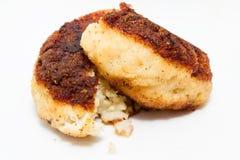 Kotelett von Fischen lizenzfreies stockfoto