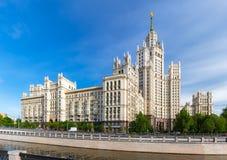 Kotelnicheskaya bulwaru budynek Fotografia Royalty Free