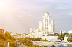 Kotelnicheskaya bulwaru budynek Obraz Stock