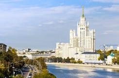 Kotelnicheskaya bulwaru budynek Zdjęcie Stock