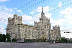 Kotelnicheskaya bulwaru budynek, Moskwa Obraz Stock