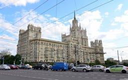 Kotelnicheskaya bulwaru budynek, Moskwa Zdjęcia Royalty Free
