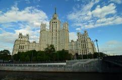 Kotelnicheskaya bulwaru budynek, Moskwa Fotografia Royalty Free