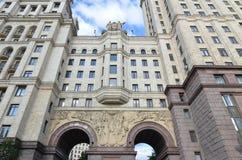Kotelnicheskaya bulwaru budynek, Moskwa Zdjęcie Royalty Free
