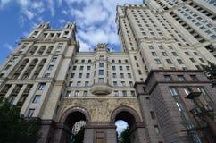 Kotelnicheskaya bulwaru budynek, Moskwa Obrazy Stock