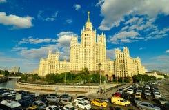 Kotelnicheskaya bulwaru budynek, Moskwa Zdjęcia Stock