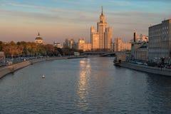 Kotelnicheskaya bulwaru budynek, Moskwa Obrazy Royalty Free