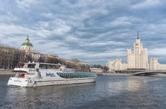 Kotelnicheskaya bulwaru budynek, Moskwa Rosja Obraz Stock